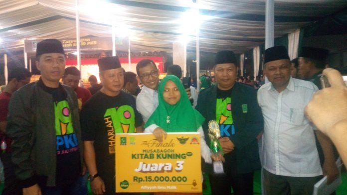 Ngaliyatul Marfuah, Juara III MKK Alfiyah Harumkan Ponpes Sabilul Hasanah