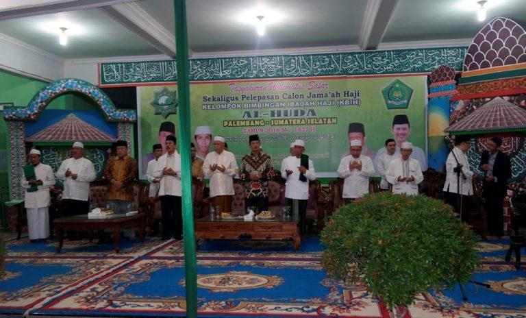 KBIH AlHuda Palembang  Terdaftar  di Kanwil Sumatera Selatan