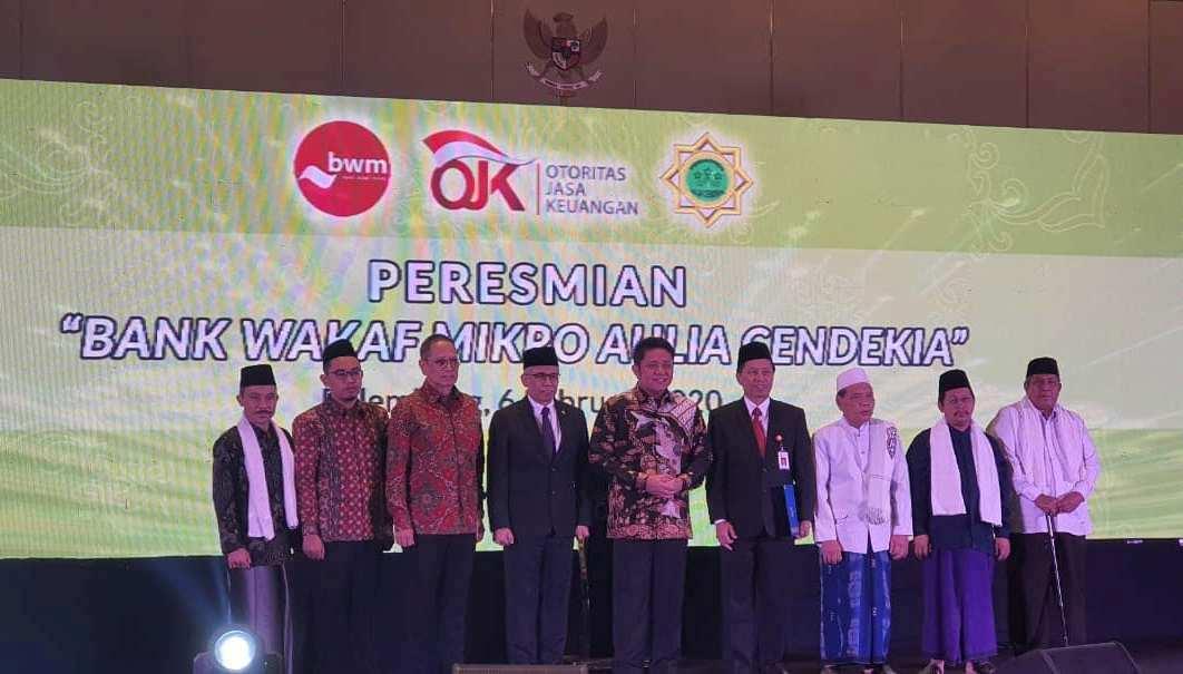 Bank Wakaf Mikro di Pondok Pesantren Sumatera Selatan