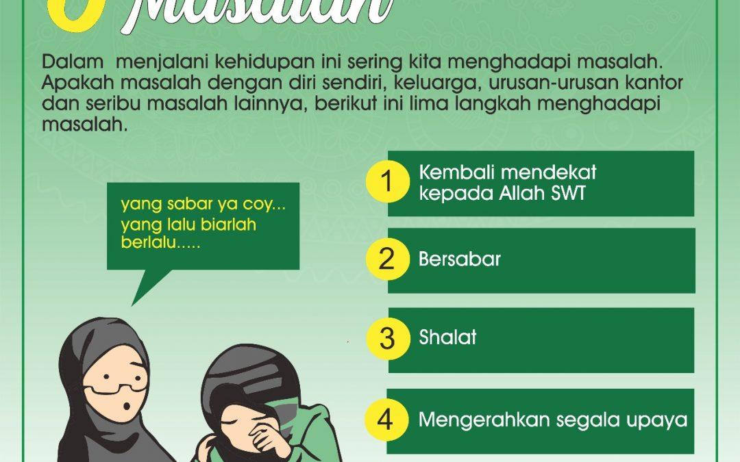 5 Langkah Menghadapi Masalah