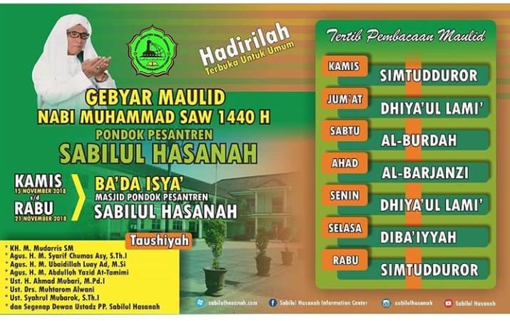Menyambut Maulid Nabi Muhammad
